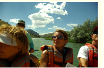 river rafting in wyoming